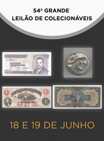 54º GRANDE LEILÃO DE COLECIONÁVEIS
