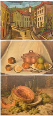 Dispersão de Extensa e Eclética Pinacoteca e Objetos de Artes, formada nos Séculos XX e XXI
