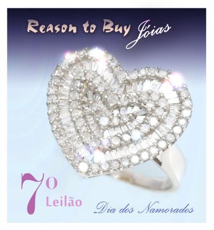 7º Leilão de Joias da Reason to Buy Joalheria - Dia dos Namorados