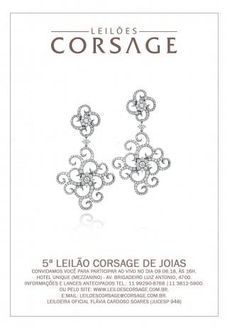 5º LEILÃO CORSAGE DE JÓIAS