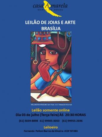 LEILÃO DE JOIAS E ARTE