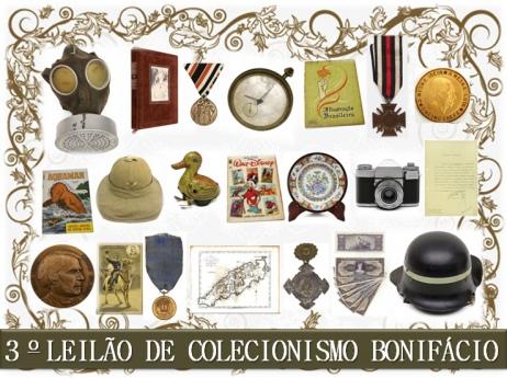 3º Leilão Bonifácio de Colecionismo