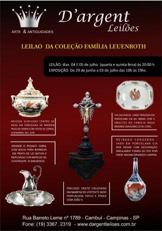 LEILAO  DA COLEÇÃO FAMÍLIA LEUENROTH