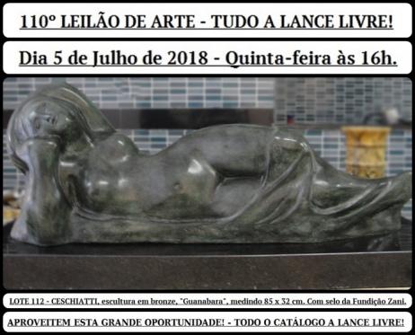 110º LEILÃO DE ARTE - TUDO A LANCE LIVRE!