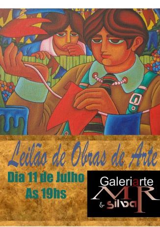 LEILÃO DE OBRAS DE ARTE