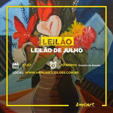 LEILÃO DE JULHO