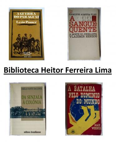Leilão de Livros - Biblioteca Heitor Ferreira Lima