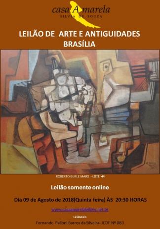 LEILÃO DE ARTE ,  JOIAS E  ANTIGUIDADES BRASÍLIA