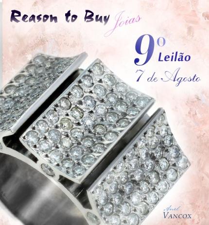 9º Leilão de Joias da Reason to Buy Joalheria