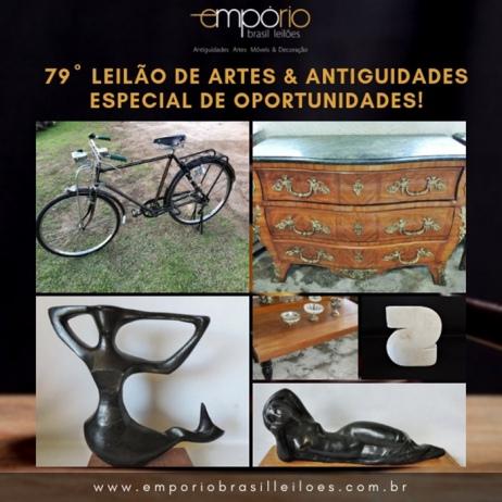79º Leilão de Artes & Antiguidades - Especial de Oportunidades!