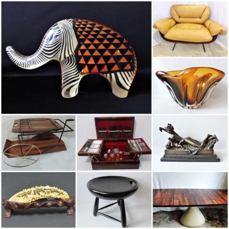 80º Leilão de Artes & Antiguidades -  Especial de Acervos e Coleções Particulares!!!!