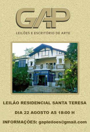 LEILÃO RESIDENCIAL SANTA TERESA
