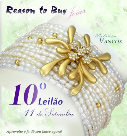 10º Leilão de Joias da Reason to Buy Joalheria