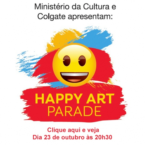 Happy Art Parade - 1a. edição - Leilão Beneficente - presencial - 23/10/2018