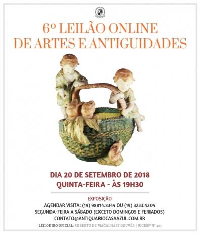 6º LEILÃO DE ARTES E ANTIGUIDADES