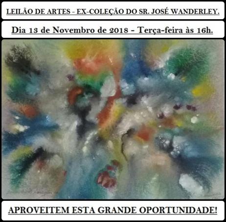 LEILÃO DE ARTES - EX-COLEÇÃO DO SR. JOSÉ WANDERLEY