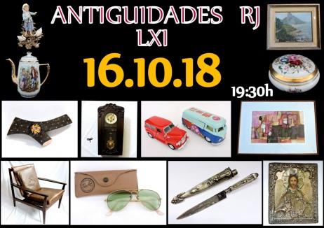 LEILÃO ANTIGUIDADES RJ LXI