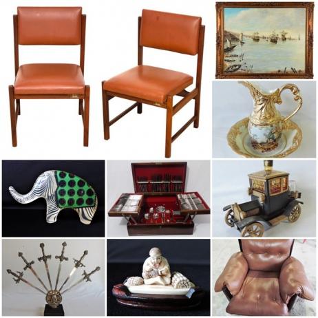 81º Leilão de Artes & Antiguidades -  Especial de Acervos e Coleções Particulares!!!!