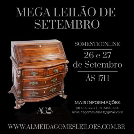 MEGA LEILÃO DE SETEMBRO - ALMEIDA GOMES